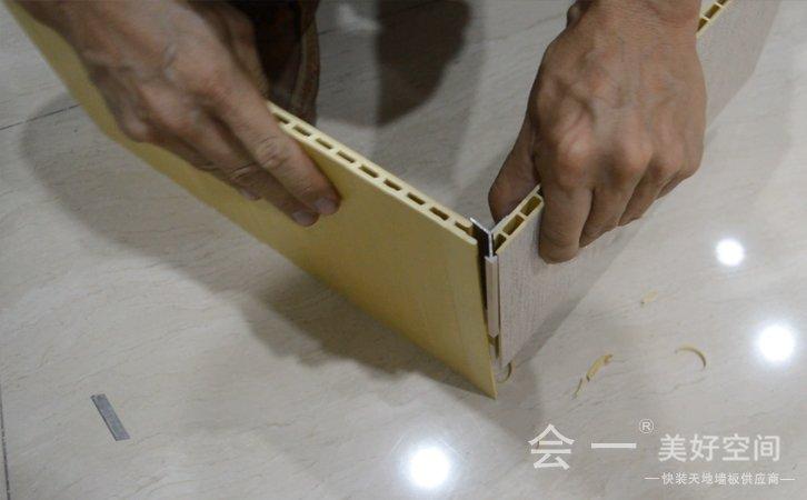 小阳角线拼接安装方法2——会一小阳角线拼接方法2 实况视频