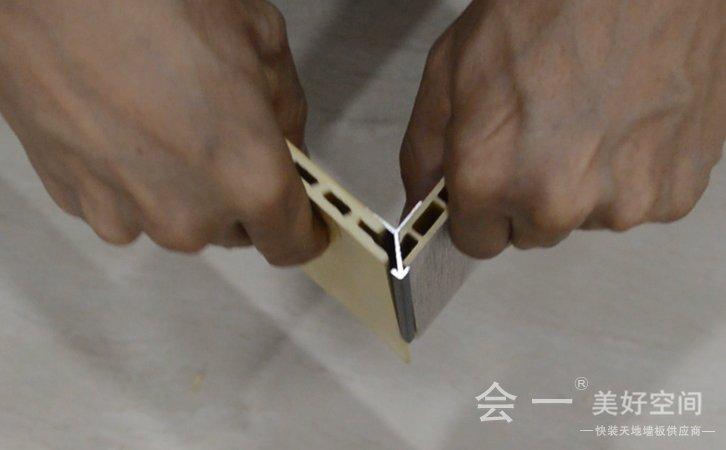 小阳角线拼接安装方法3——会一小阳角线拼接方法3 实况视频