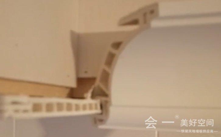 竹木纤维装饰线安装方法1——会一墙板安装 beplay官网体育注册竹木纤维装饰线安装方法1实况视频