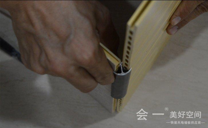 小阳角线拼接安装方法——会一小阳角线拼接方法 实况视频